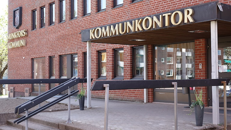 Munkfors kommun, kommunhuset. Foto: Munkfors kommun.