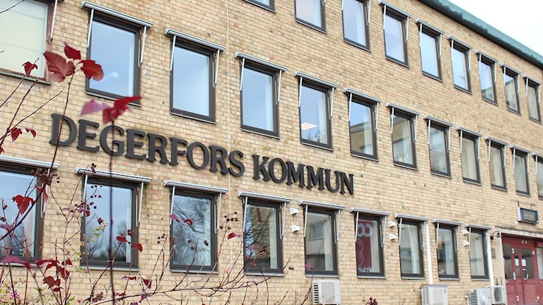 Kommunhuset i Degerfors. Foto: Malin Laurila/Sveriges Radio.