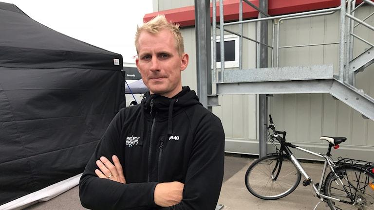 Richard Göransson, vd för Gelleråsens Arena
