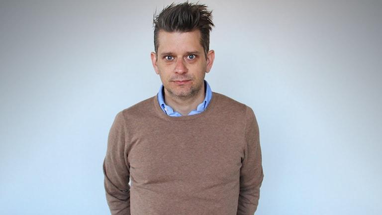 Marcus Birro. Foto: Lars-Gunnar Olsson/Sveriges Radio.