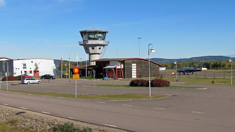 Torsby flygplats. Foto: Lennart Nordenstein.