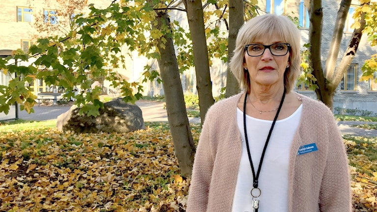 Carolyn Isaksson. Foto: Annika Ström/Sveriges Radio.