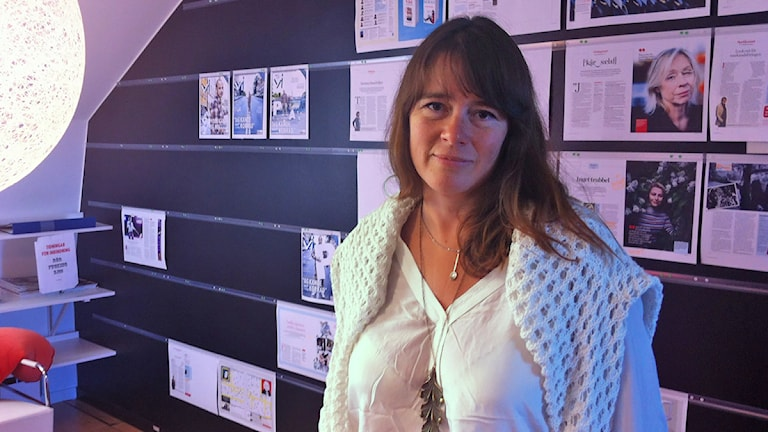 Sofia Wadensjö Karén. Foto: Laila Carlsson/Sveriges Radio.