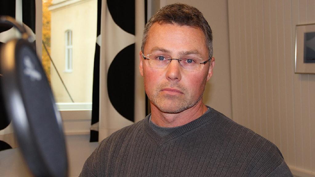 Stefan Wennberg. Foto: Hedvig Nilsson/Sveriges Radio.