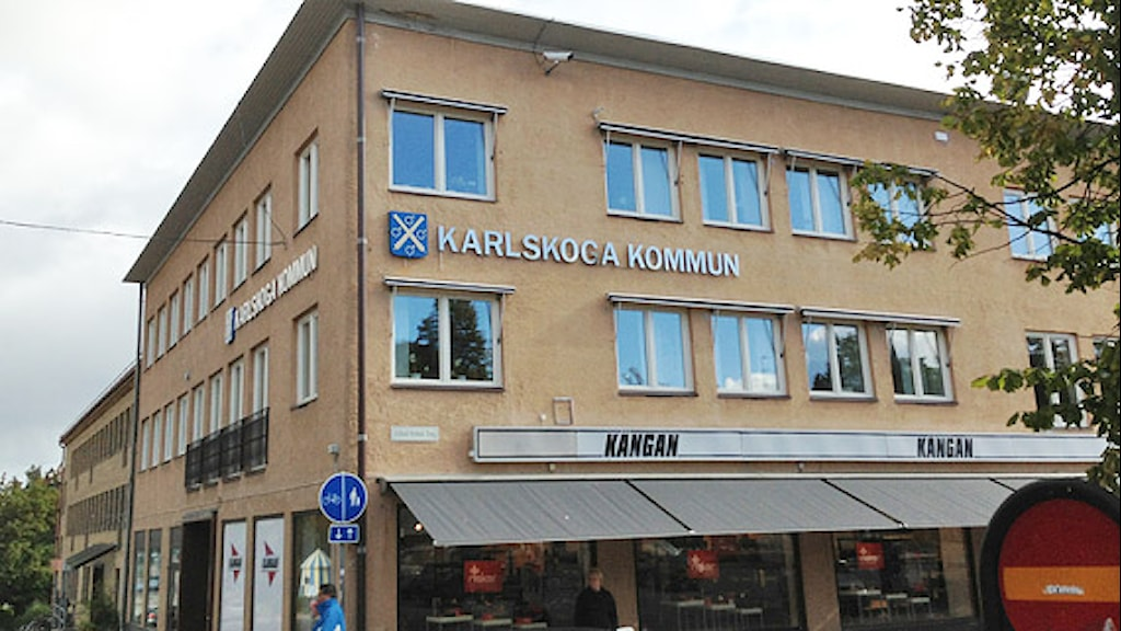 Karlskoga kommun, kommunhuset. Foto: Tomas Hedman/Sveriges Radio.