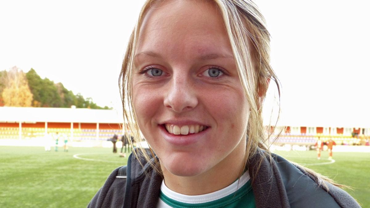 Mimmi Larsson. Foto: André Pettersson/Sveriges Radio.