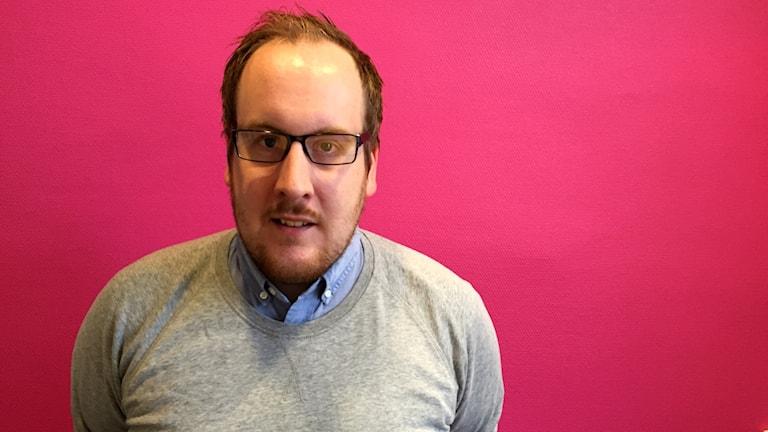 Johan Carlsson, tävlingskonsulent Värmlands innebandyförbund.
