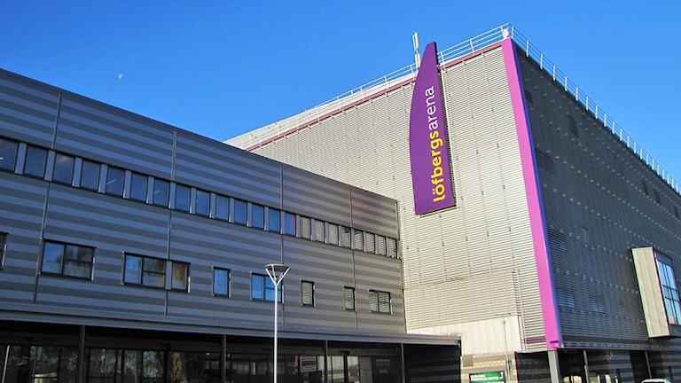 Löfbergs Arena i Karlstad. Foto: Anders Persson/Sveriges Radio.