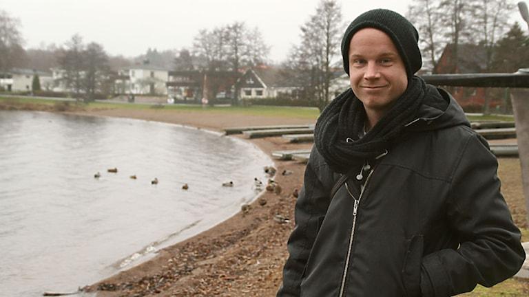 Christoffer Collin från Karlskoga Foto: Anders Persson/Sveriges radio