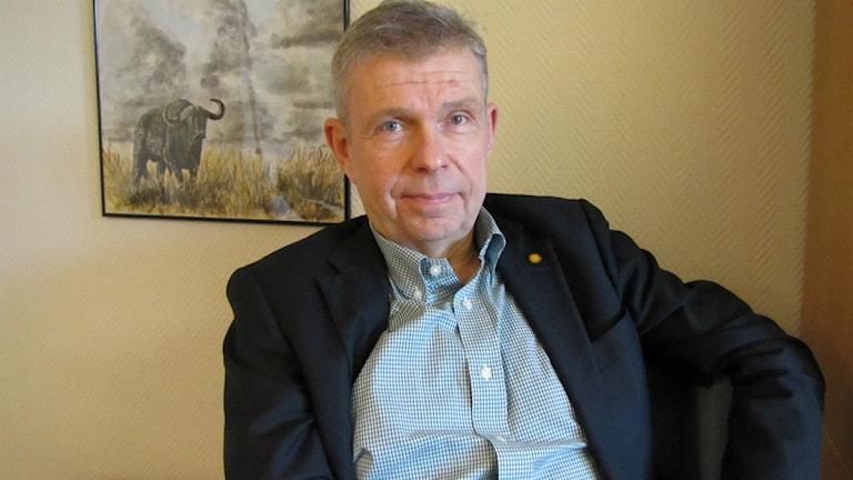Lars-Göran Melin, verksamhetschef för handikappsomsorgen i Karlstads kommun. Foto: Lisa Linder Lindberg, Sveriges Radio.