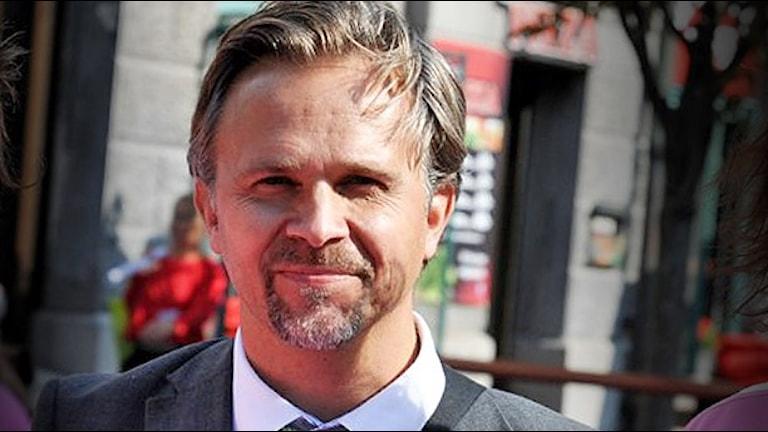 Niklas Wikström (L). Foto: Lisa Wahlström/Sveriges Radio.