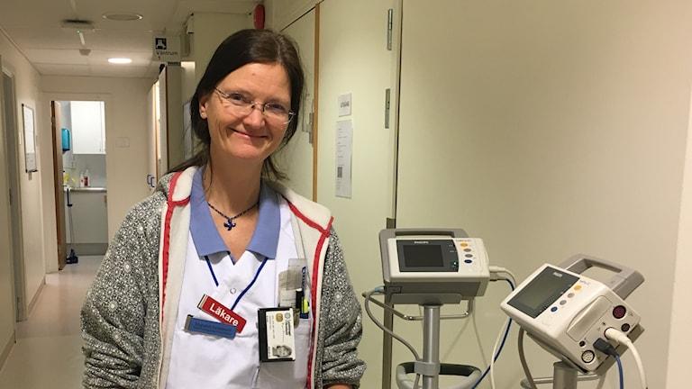 Ingunn Granum är överläkare på akuten i Karlstad.