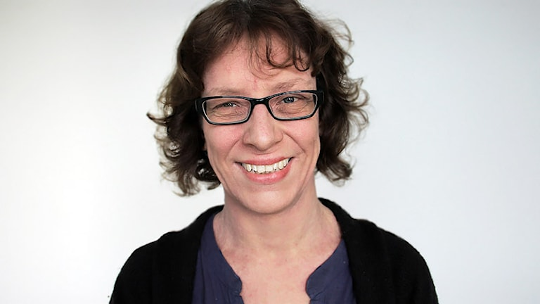 Annalena Wikström. Foto: Lars-Gunnar Olsson/Sveriges Radio.