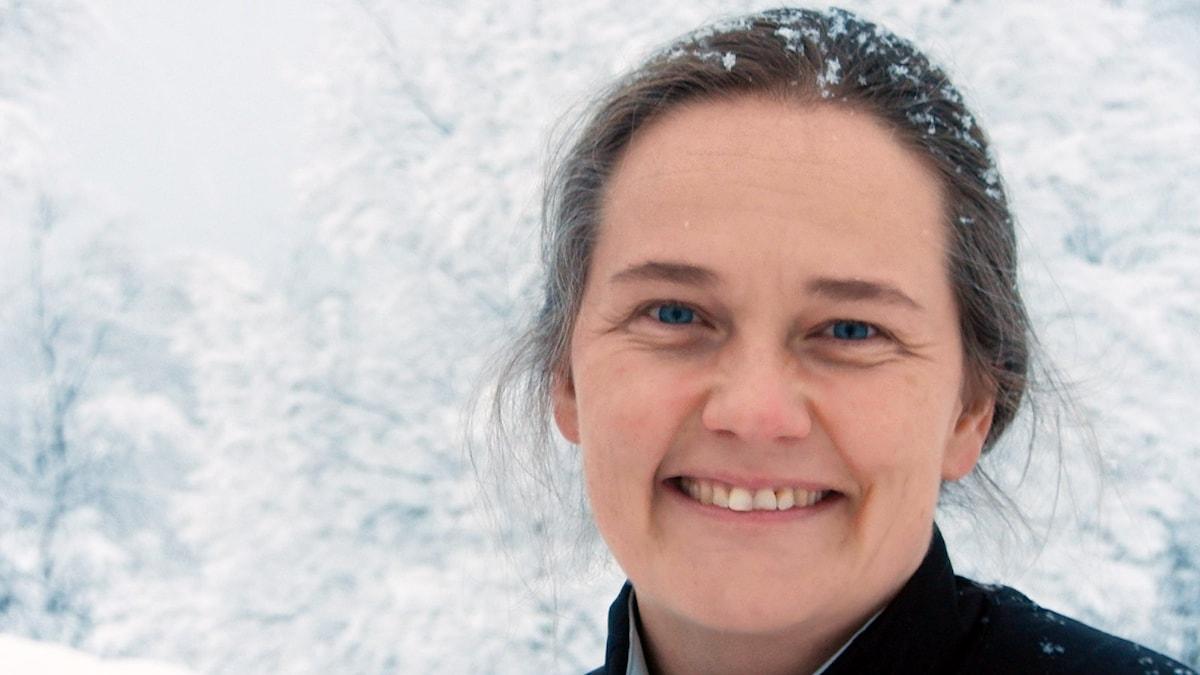 Karin Johannesson, präst. Foto: Sven Westerdahl/Sveriges Radio.