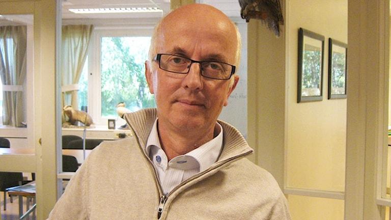 Gunnar Glöersen. Foto: Lina Hård/Sveriges Radio.