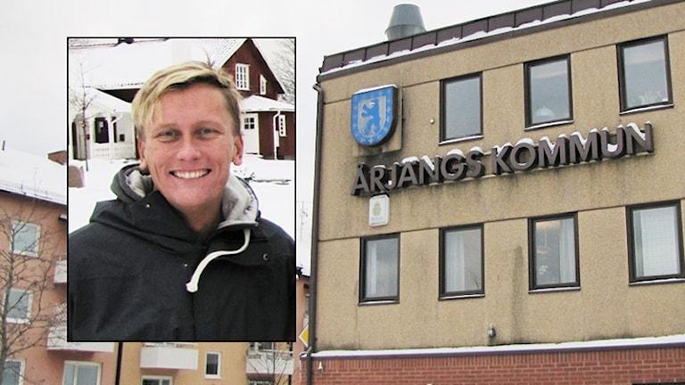 Daniel Schützer (S). Foto: Sveriges Radio.