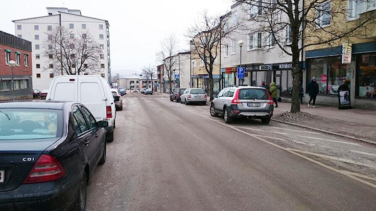 Torsby Centrum. Foto: Lennart Nordenstein/Sveriges Radio.