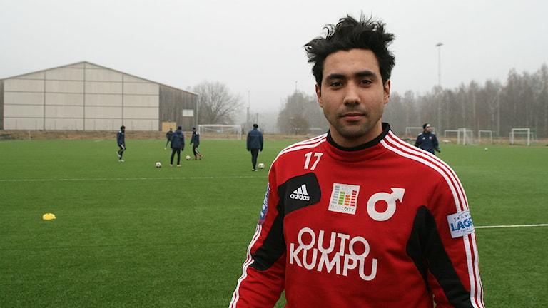 Sebastian Castro-Tello. Foto: Magnus Hermansson/Sveriges Radio.