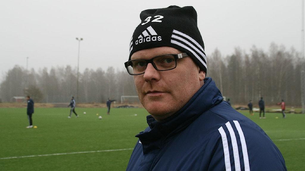 Patrik Werner. Foto: Magnus Hermansson/Sveriges Radio.