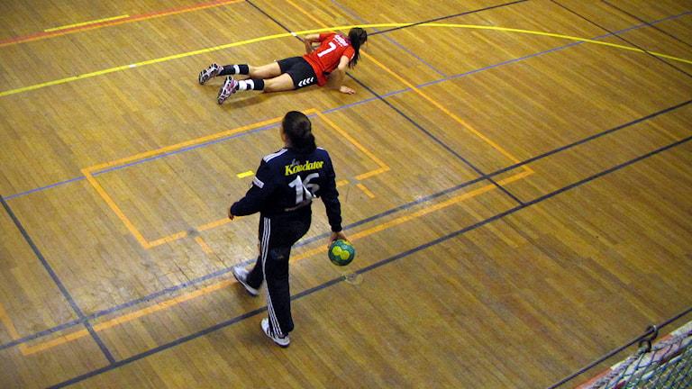 Maria Lindh Hellton handboll reser sig