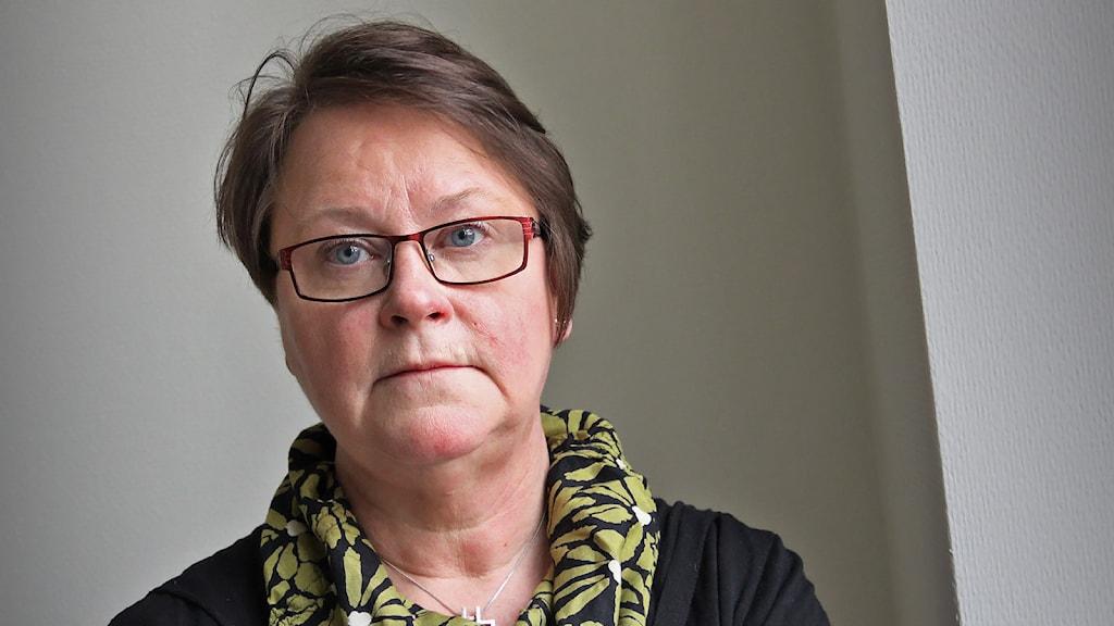 Eva Strandh. Foto: Lars-Gunnar Olsson/Sveriges Radio.