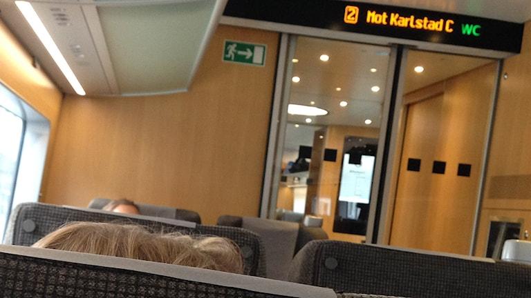 Försenade tåg . Foto: Jenny Norberg/Sveriges Radio.