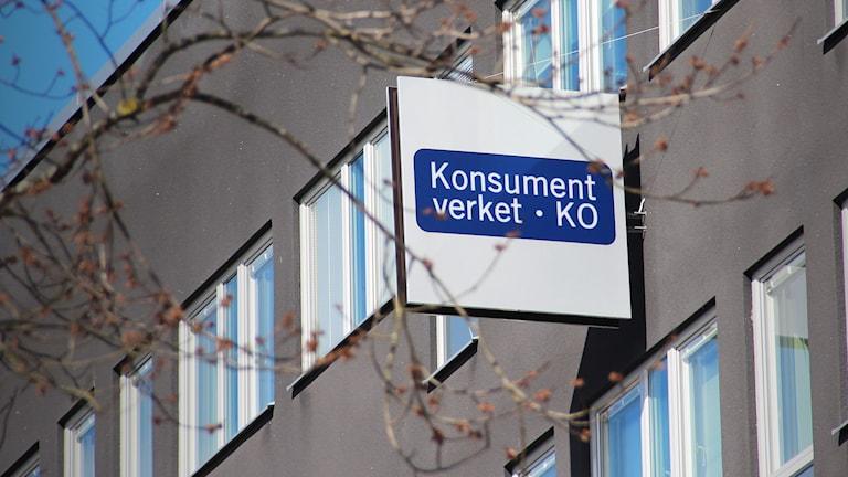 Konsumentverket. Foto: Lars-Gunnar Olsson/Sveriges Radio.