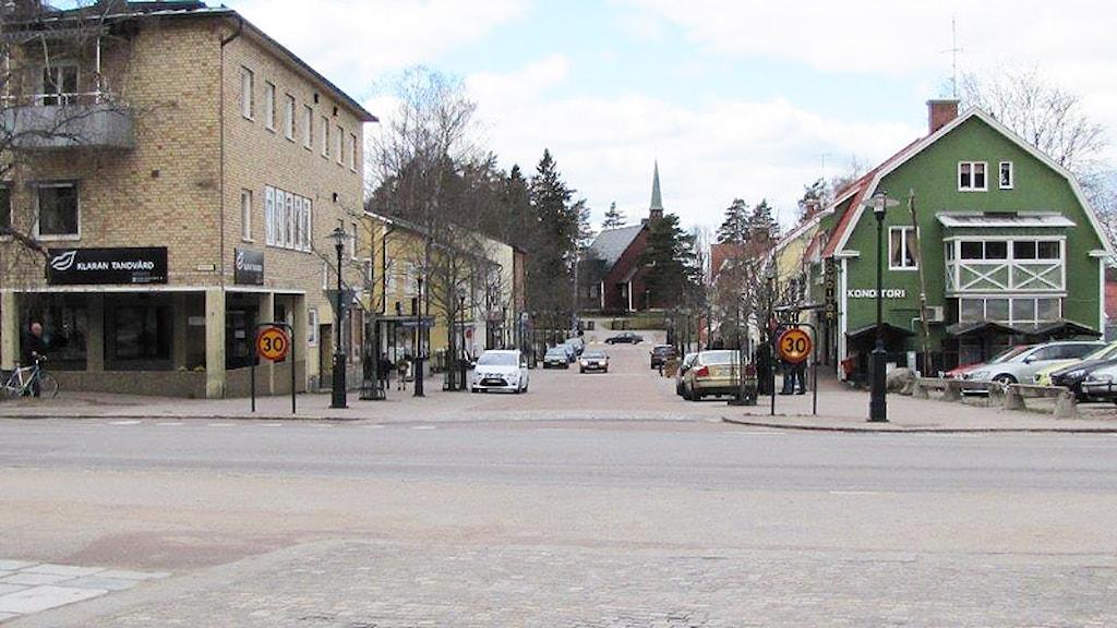 Centrala Hagfors. Foto: Lennart Nordenstein/Sveriges Radio.
