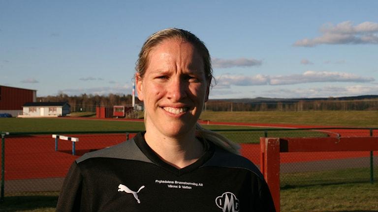 Frida Broström. Foto: Magnus Hermansson/Sveriges Radio.