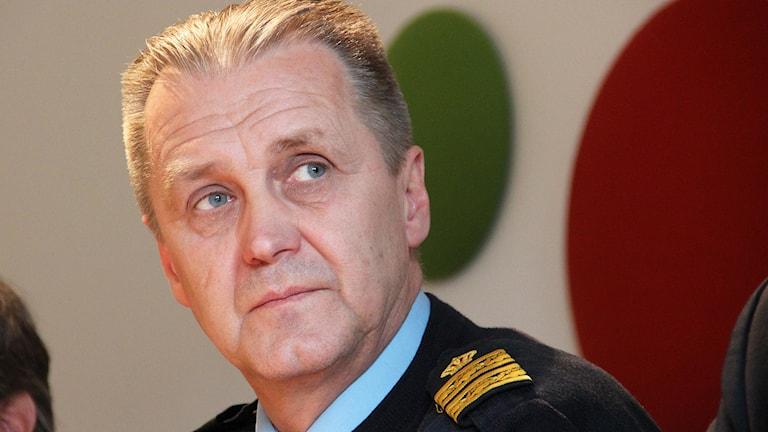 Rolf Sandberg. Foto: Lars-Gunnar Olsson/Sveriges Radio.