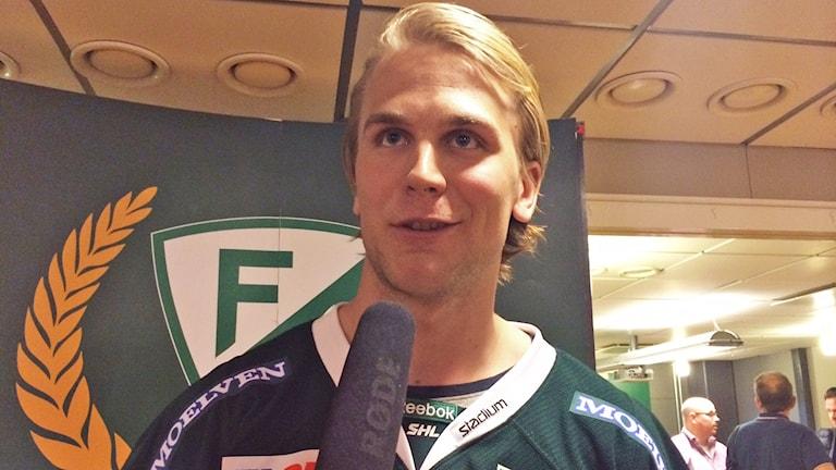 Daniel Gunnarsson. Foto: Annika Ström/Sveriges Radio.