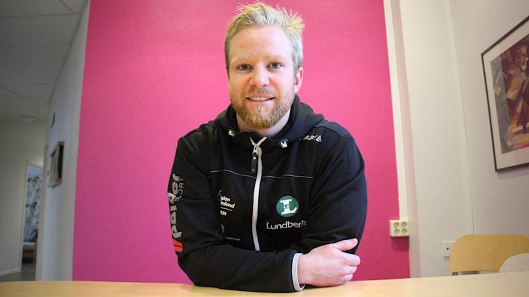 Niklas Edin. Foto: Lars-Gunnar Olsson/Sveriges Radio.