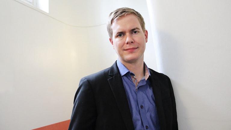 Gustav Fridolin. Foto: Lars-Gunnar Olsson/Sveriges Radio.