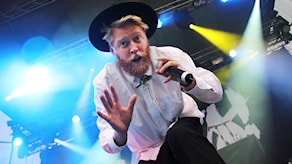 Movits, Johan Rensfeldt. Foto: Lars-Gunnar Olsson/Sveriges Radio.