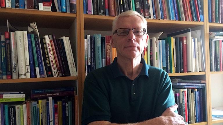 Hans Lödén är statsvetare vid Karlstads universitet. Foto: Lisa Linder Lindberg / Sveriges Radio.