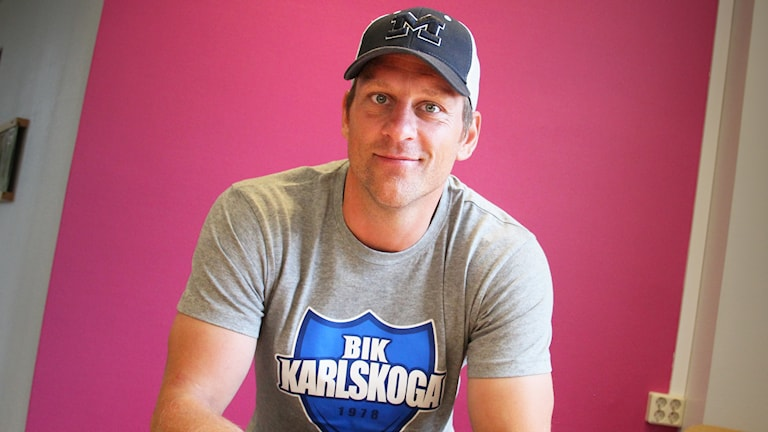 Christian Berglund. Foto: Lars-Gunnar Olsson/Sveriges Radio.