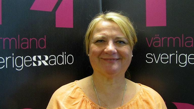 Birgitta Halvarsson. Foto: malin Björk/Sveriges Radio.