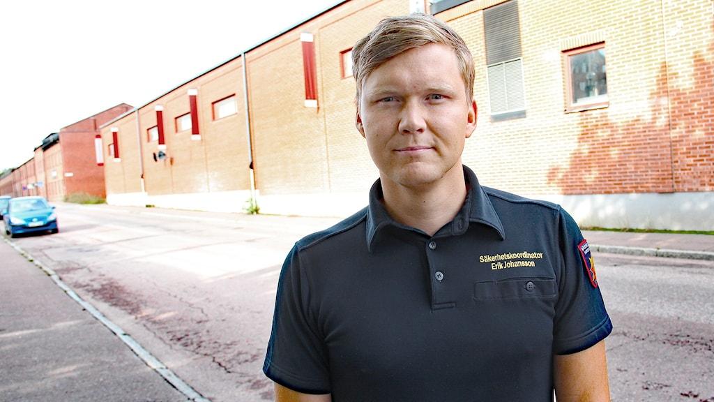 Erik Johansson. Foto: Lars-Gunnar Olsson/Sveriges Radio.