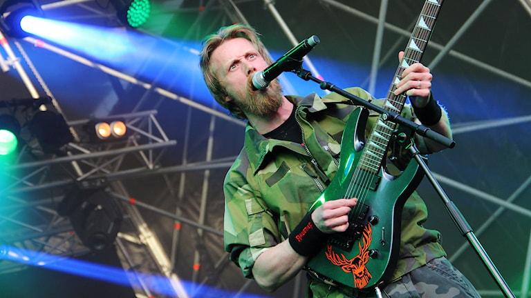 Pär Hulkoff. Foto: Lars-Gunnar Olsson/Sveriges Radio.