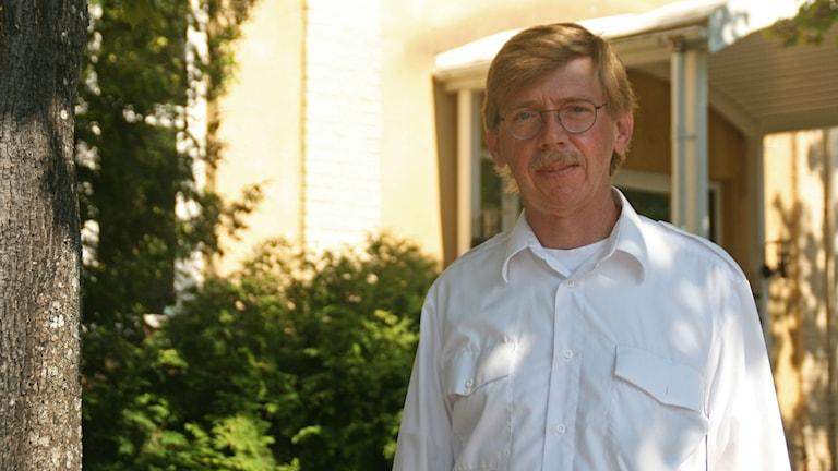 Leif Gustavsson, Beredskapsdirektör på Länsstyrelsen. Foto: Pontus Skagersten/Sveriges Radio