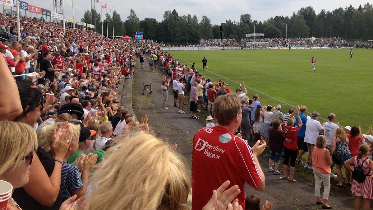 Nästan 6000 i publiken på Stora Valla