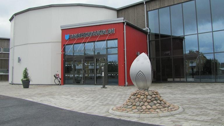 Sannerudsskolan i Kil. Foto: Carol Atallah/Sveriges Radio.