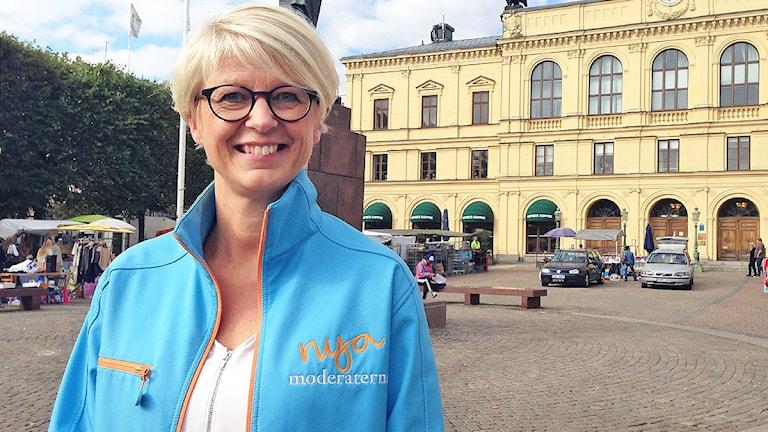 Elisabeth Svantesson. Foto: Pontus Skagersten/Sveriges Radio.