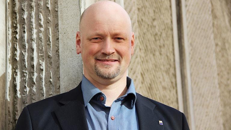 Daniel Bäckström. Foto: Lars-Gunnar Olsson/Sveriges Radio