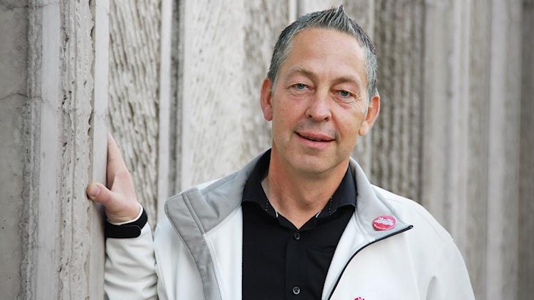 Lars Mejern Larsson. Foto: Lars-Gunnar Olsson/Sveriges Radio.