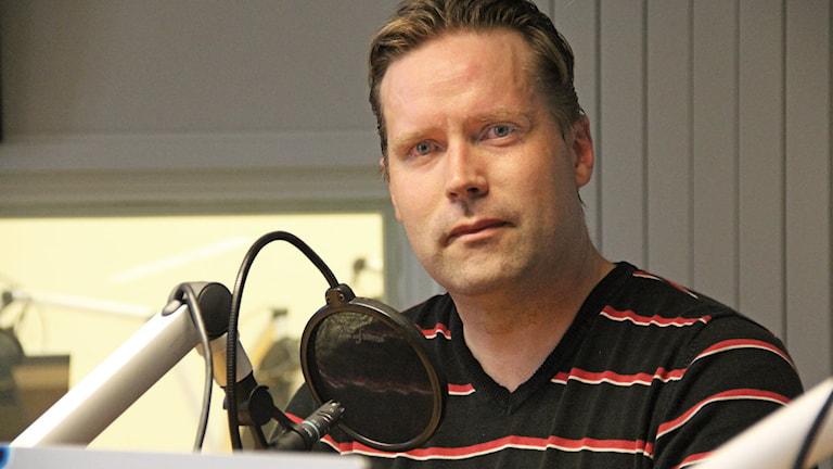 Anders Ahl (SD). Foto: Lars-Gunnar Olsson/Sveriges Radio.