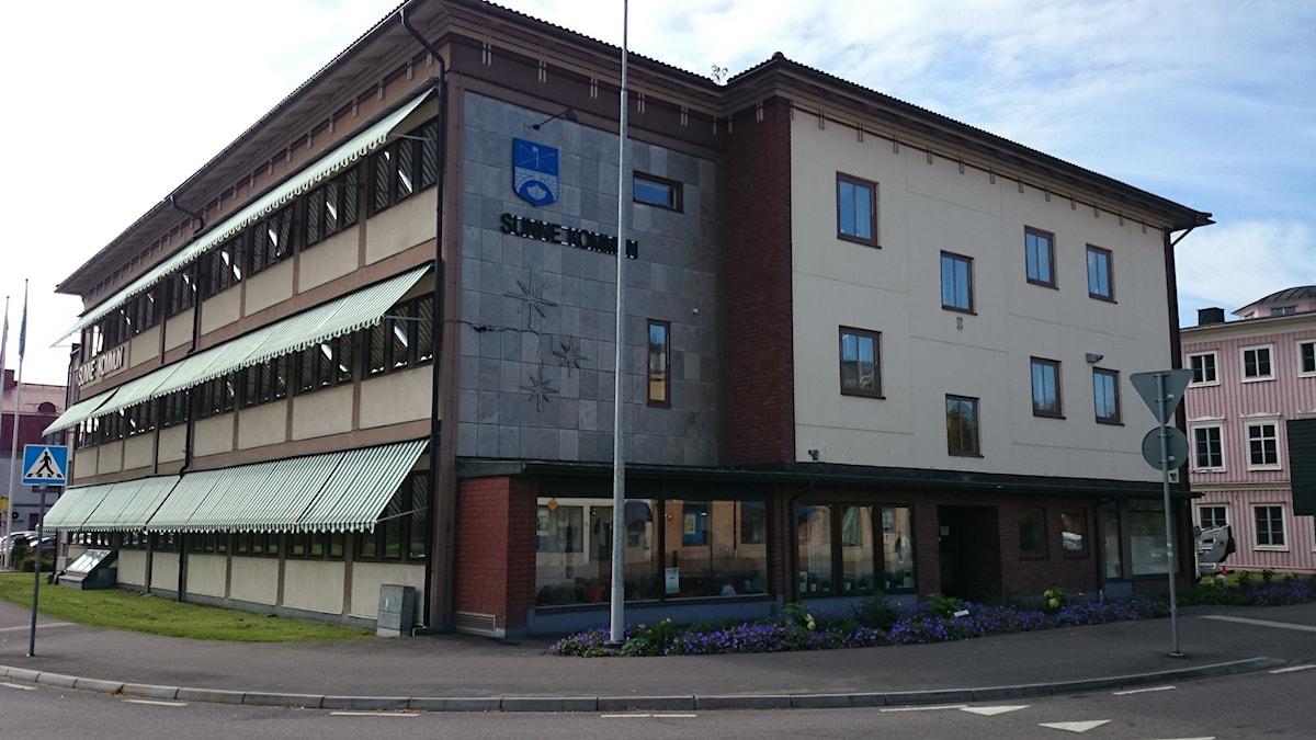 Sunne kommunhus. Foto: Lennart Nordenstein.