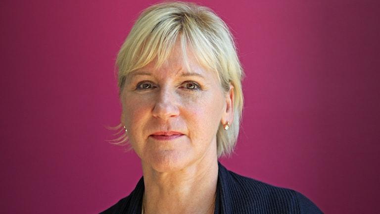 Margot Wallström. Foto: Lars-Gunnar Olsson/Sveriges Radio.