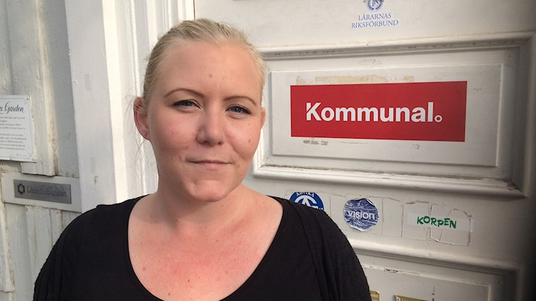 Malin Möller, Kommunal i Arvika. Foto: Jenny Tibblin/Sveriges Radio.
