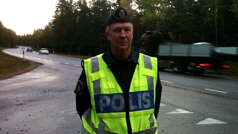 Rune Atterstig är chef för trafikpolisen Värmland